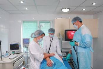 Биопсия желудка с помощью эндоскопии