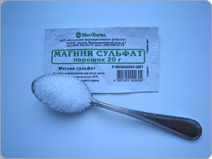 Как применять магния сульфат для очищения кишечника?