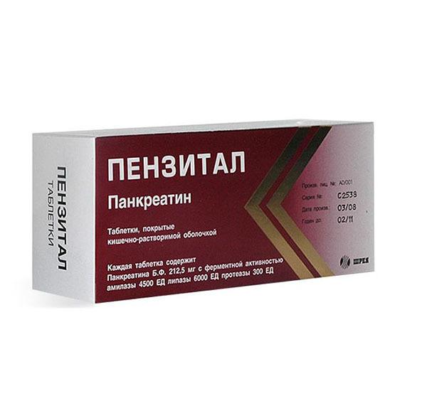Препарат Пензитал