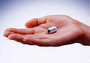 Капсулы для обследования кишечника